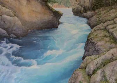 Swift Water   36×48″     $3800 Cad