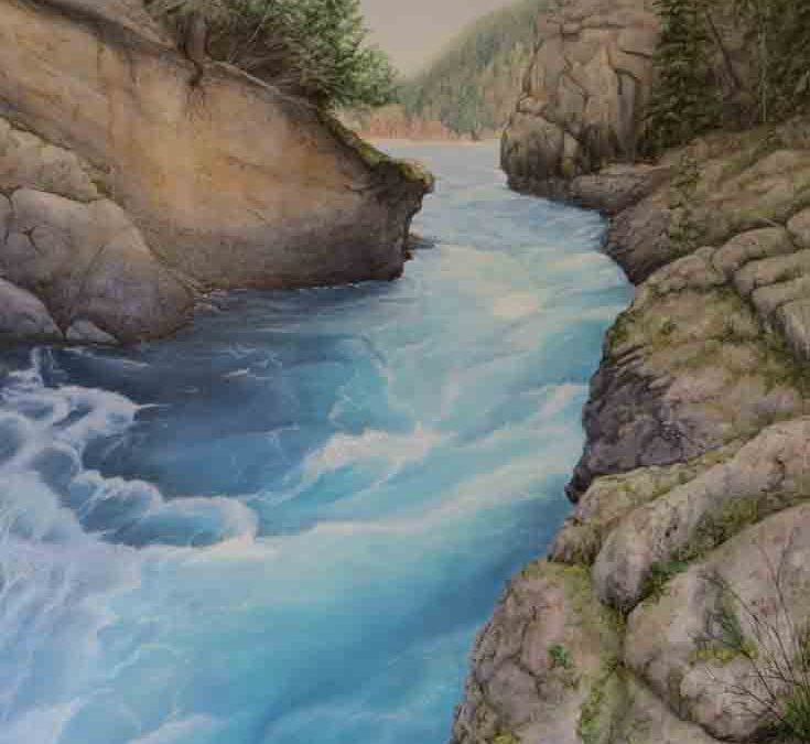 Swift Water 36×48″ $3900 CAD