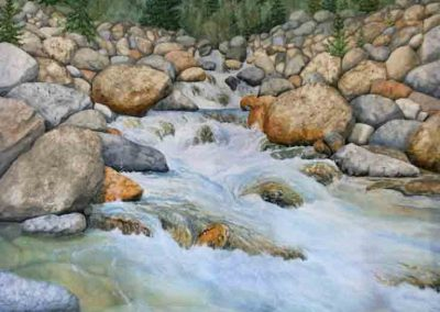 Big Rock Creek 36×48″ $3900 CAD