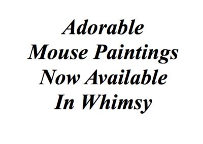 Whimsy Mice for Sale