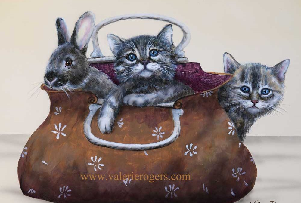 Pet Purse Whimsy 11×14 $350 CAD